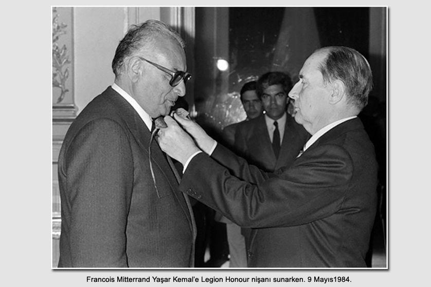 Yaşar Kemal ve Mitterand