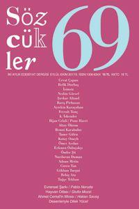 Sözcükler Dergisi 69. Sayı Kapağı